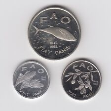Croazia, 2,21 Kuna 1995, FAO - 3 monete