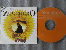 CD-ZUCCHERO-SUGAR FORNACIARI-FEELS LIKE A WOMAN-OLSMM-SPIRIT(CD SINGLE)96-2TRACK