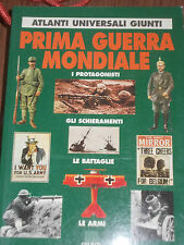 WW1 PRIMA GUERRA MONDIALE atlanti universali giunti editore sc1