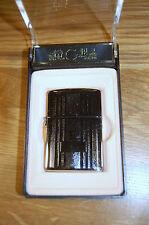COLIBRI OF LONDON QUANTUM 100 CIGARETTE LIGHTER 100% WINDPROOF PLATINUM COIL