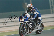 Randy De Puniet MotoGP Hand Signed Power Electronics Aspar ART Photo 12x8 2013 1