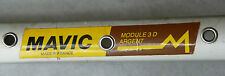 Mavic Module 3 D Argent Clincher Rim 700C Strong Tour 40 Hole Vintage Bike NOS
