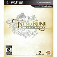 Ni No Kuni Wrath of the White Witch - Authentic Sony Playstation 3 PS3 Game