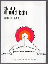 SISTEMA DI ANALISI LATINA di Bruno Colasanto