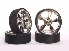 Hoppin Hydros 1/24 1/25 scale MONSTER 24s BLVD Wheels Rim & Tires Model Car