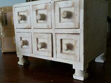 Wood Jewelry Box Spice Box Home Decor Storage Box 653