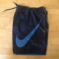 Nike Swim Trunks Board Shorts Big Logo - Fitz Size Mens XS/S