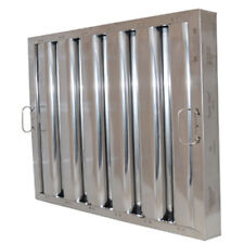 """Flame Gard® Type Vi Stainless Steel Baffle Grease Filter with Hooks 