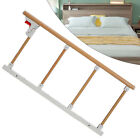 Stainless Steel Folding Guardrail Four-bar Children's Bed Protection Railing NEW
