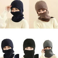 GI- Outdoor Skiing Motorcycle Cycling Full Face Mask Thicken Windproof Warm Hat