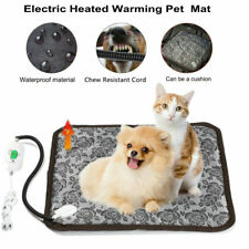 Electric Heated Pet Bed Warm Pad Mat Puppy Dog Cat Waterproof Anti Bite Blanket