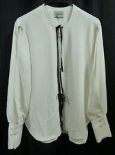 Rachel Comey White Meryl Tie Front Blouse Size 10