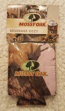 Mossy Oak Pink Camouflage Break-Up Infinity Beverage Beer Drink Cozy New!