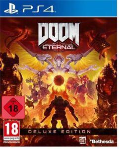 Doom Eternal Deluxe Edition uncut inkl. Vorbesteller-Boni PS4 Disc