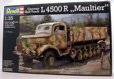 REVELL 1:35 03091 GERMAN HALF TRACK L4500 R,, MAULTIER (U21)