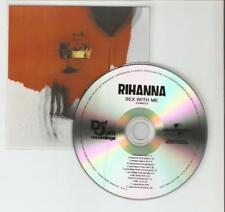 RIHANNA 'SEX WITH ME'' 12 REMIX BRAZILIAN CD PROMO