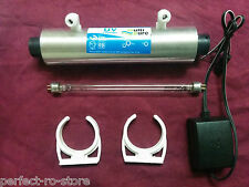 For RO UV  Water Filter Purifier Philips UV Lamp (11 W)+Chamber/Barrel+Adapter.