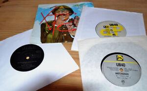 """Job Lot 8x 80's 7"""" Vinyl Records"""