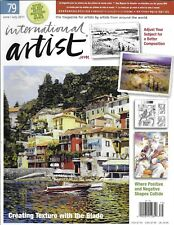 International Artist magazine Creating texture Better subject composition Shapes