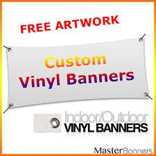 520gsm Custom Outdoor/Indoor PVC Vinyl Banner single sided print various sizes