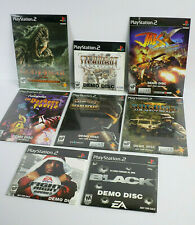 8 SEALED PlayStation 2 Demo Discs Jak X, God / War, Ratchet Deadlocked, Steambot
