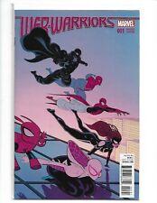 WEB WARRIORS #1 MOORE VARIANT COVER 1:25 SPIDER-MAN GWEN SPIDER HAM NEW (v16)