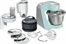 Bosch MUM58020 Küchenmaschine große Edelstahl-Schüssel (3,9 l) 1000 W türkis