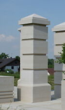 Gate Piers Pillars Cast Stone PG-03