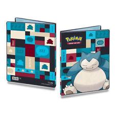Album Pokémon Snorlax raccoglitore portfolio A4 Ultra Pro 90 / 180 carte 411861