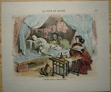 1860 print OPIUM SMOKERS, CHINA (#157)
