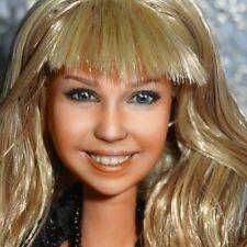 Ooak Hannah Montana Miley Stewart Celebrity Barbie doll reroot repaint by Olia