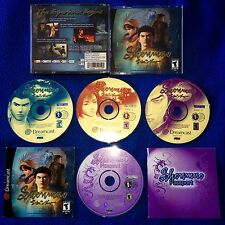 Shenmue Dreamcast Ntsc Usa GOOD CONDITIONS !!! Sega Retrogames