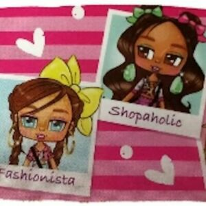 Boxy Girls Body Pillow Cover Pillow Case Fashionista, Shopaholic, Style Icon