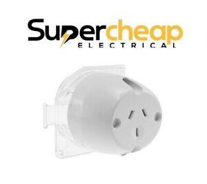 Dexton Surface Socket Plug Base 10A Electrical Outlet for Downlight Fan Sockets