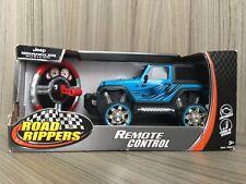 New Bright Remote Control RC Blue Road Ripper Jeep Car