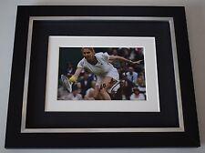 Steffi Graf SIGNED 10x8 FRAMED Photo Autograph Display Tennis Sport AFTAL COA