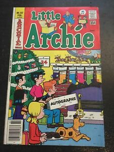 Little Archie#127 Awesome Condition 7.5(1978) Christmas Stocking Cover