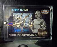 2007 Donruss Americana Hollywood Legends Actor LANA TURNER #/d 1/25