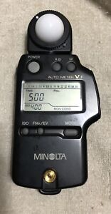 Used Minolta Auto Meter Model VF Flash Exposure Light Meter