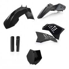 ktm sx65 12-15  acerbis  plastic kit black