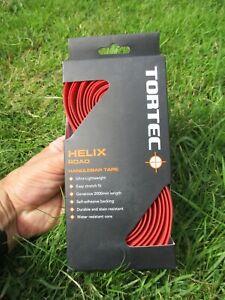 Tortec Helix Road Red handlebar tape
