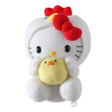 """YAKULT Sanrio Hello Kitty Cosplay Chick W/T Little Baby Plush Doll Toy 7.8"""""""