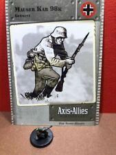 Axis & Allies Base set #: 28/48 Mauser Kar 98k