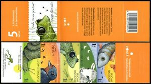 Finland 1310 Booklet, MNH. Fauna: Perch, Lambs, Frogs, Swallows, Snail, 2008
