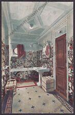 MOTONAVE AUGUSTUS 16 N.G.I. - ARREDI - NAVE MARINA SHIP NAVIGAZIONE Cartolina