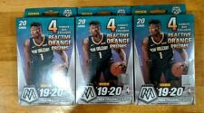 Panini 2019-20 Mosaic NBA Basketball Hanger Box - LOT Of 3 FACTORY SEALED NEW