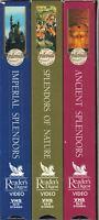 Reader's Digest - Great Splendors of the World VHS, 2001, 3-Tape Set