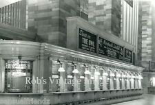 New York City Grand Central Railroad Station Ticket Counter Photo train  1920s