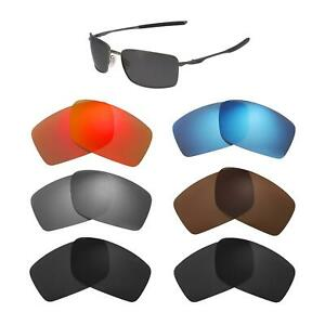 Walleva Lenses For Oakley Square Wire II (OO4075 &6016 Series)-Multiple Options