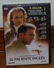 EL PACIENTE INGLES DVD PRECINTADO NUEVO DRAMA ROMANTICO 9 OSCAR (SIN ABRIR) R2